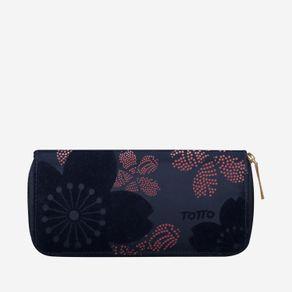 billetera-para-mujer-alargada-en-lona-flores-kuma-azul-Totto