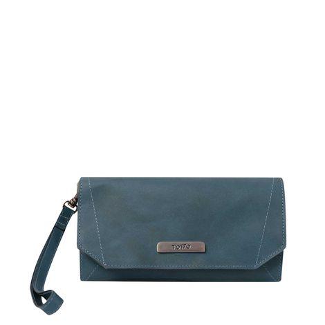 Billetera-para-Mujer-100--Cuero-Macarela-azul-deep-cobalt