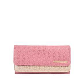 Billetera-para-Mujer-en-Pu-Leather-Subra-rosado-heather-rose