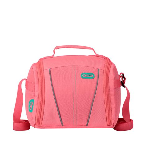 Lonchera-con-Botilito-y-Sanduchera-Plastica-Auburn-rosado-sunkist-coral