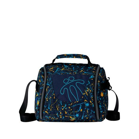 Lonchera-estampada-Resaltador-azul-splatty