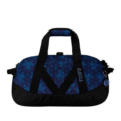 Maleta-Deportiva-Pequeña-Bungee-azul-mesh-azul