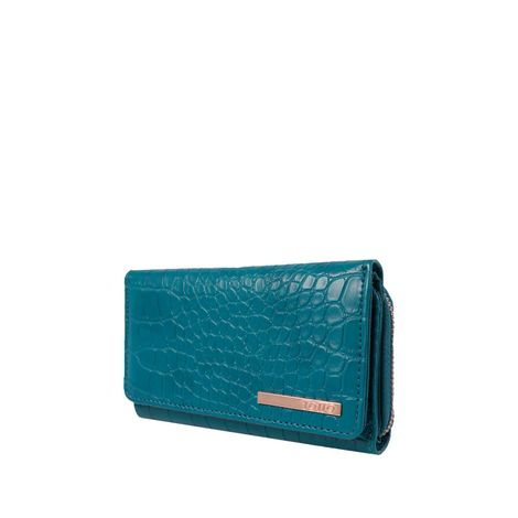 Billetera-para-mujer-con-sistema-rfid-blocker-yua-azul